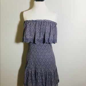 MODA INTERNATIONAL Purple Lace Dress Size S/P